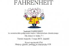 Plakat FAHRENHEIT
